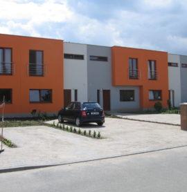 Řadové domy Mařatice -developerský projekt
