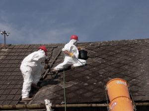 práce s azbestem