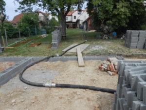 hadice k čerpadlu na beton