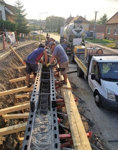 Betonujeme čerpadlem