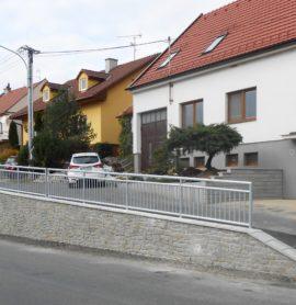 Rekonstrukce opěrné zdi Drslavice